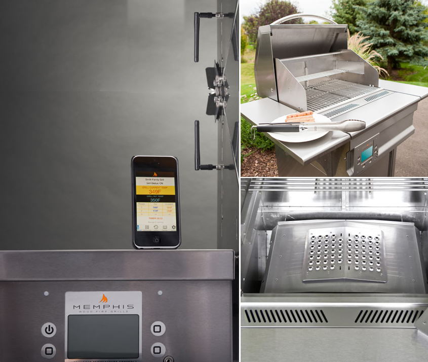 Memphis Wood Fired Grills Archives - North Forge fireplaces