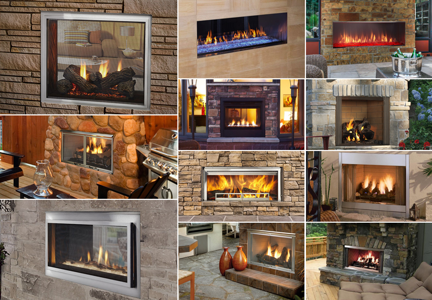 Outdoor Fireplaces North Forge Fireplaces Inserts